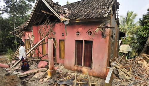 Foto BPBD Sukabumi Catat 77 Rumah Rusak Akibat Gempa Banten
