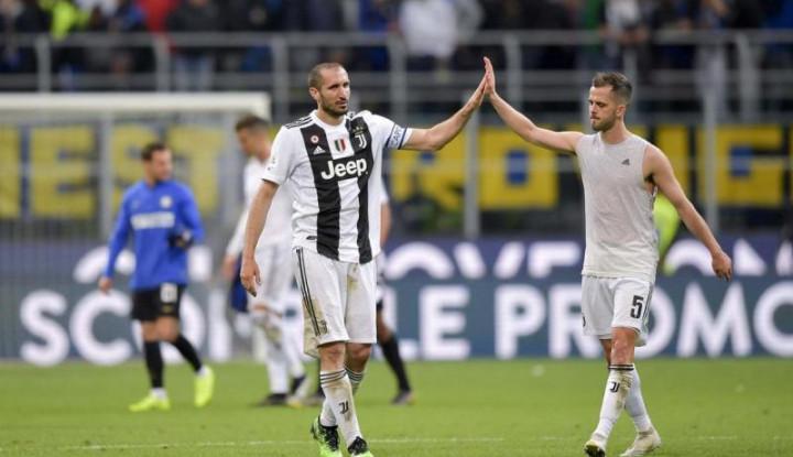 Chiellini Kembali Berlatih dengan Skuat Juventus - Warta Ekonomi