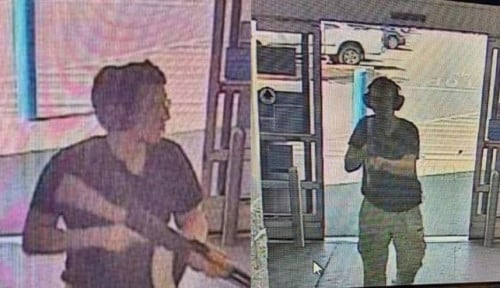 Foto Penembakan Massal di Texas, Pelaku Terinspirasi. . .