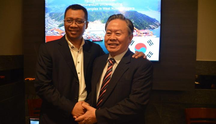 Bangun Industri Galangan Kapal Terbesar di Dunia, Gubernur NTB Gaet Investor Korea - Warta Ekonomi