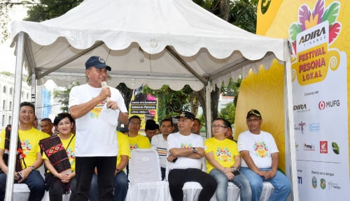 Foto Gubernur Edy Kagum Lihat Festival Pesona Lokal Sumut