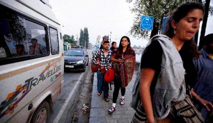 Ribuan Warganya Meninggalkan Kota Ini Karena Sudah Tak Aman - Warta Ekonomi