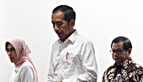 Foto Jokowi Disebut Tak Bakal Terbitkan Perppu KPK, Istana Bungkam!