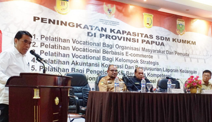 UMKM Papua Diminta Manfaatkan Teknologi Digital - Warta Ekonomi