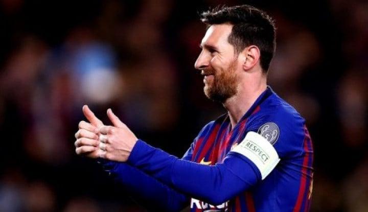 Messi Yakin Barcelona Sapu Bersih Semua Gelar - Warta Ekonomi