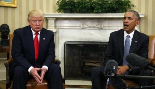 Ketika Amarah Obama Memuncak Melihat Kelakuan Trump