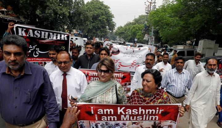 menlu pakistan: genosida di kashmir akan terjadi!