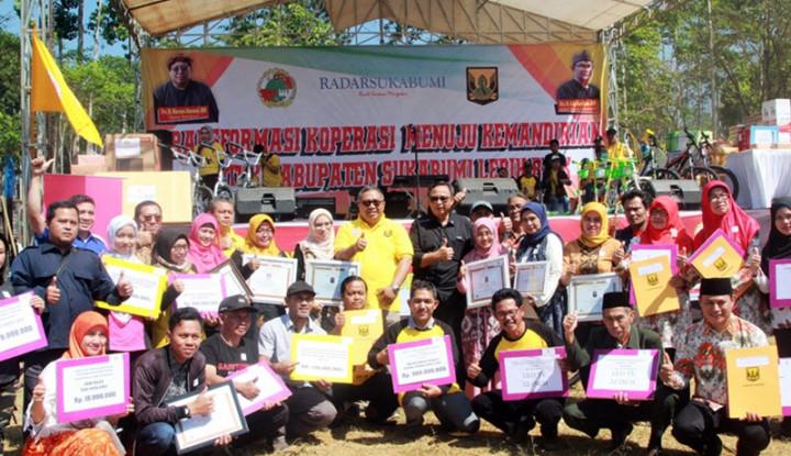 Peringatan Harkopnas Ajak UKM Sukabumi Berbenah Diri - Warta Ekonomi