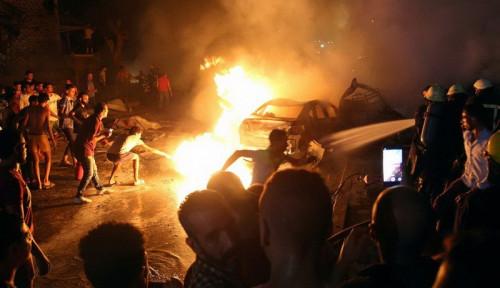 Foto Kelompok Ini Diduga Kuat Dalang Bom Mobil di Kairo Mesir