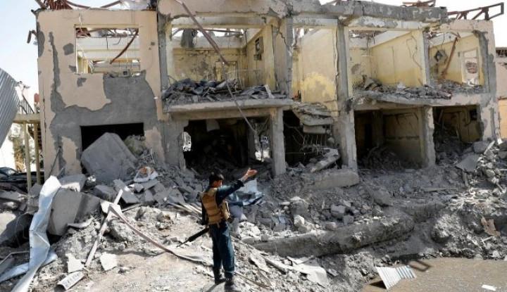 Kantor Polisi di Afghanistan Jadi Sasaran Bom - Warta Ekonomi