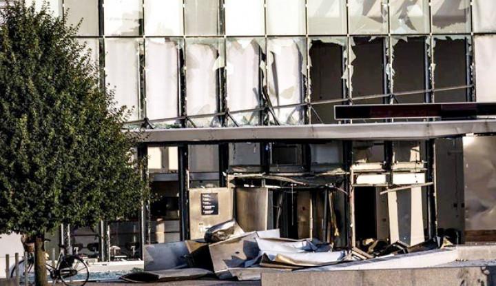 Ledakan Bom Rusak Kantor Badan Pajak Denmark - Warta Ekonomi