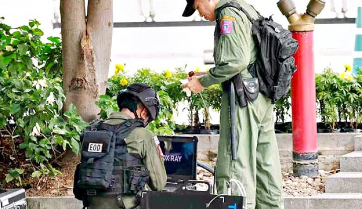 Bom Nonaktif Berhasil Diamankan Polisi Thailand - Warta Ekonomi