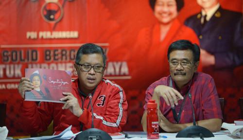 Foto KPK Ditolak Masuk Kantor PDIP, Djarot Bilang: Gak Punya Bukti Kuat