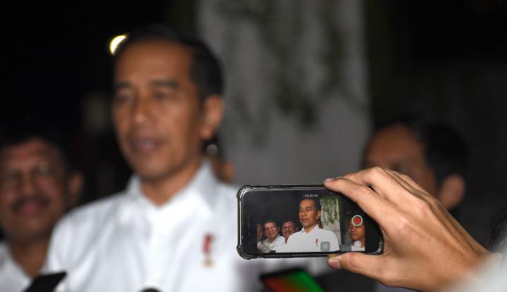 Komposisi Kabinet, Jokowi Pastikan Profesional Lebih Banyak daripada Parpol - Warta Ekonomi