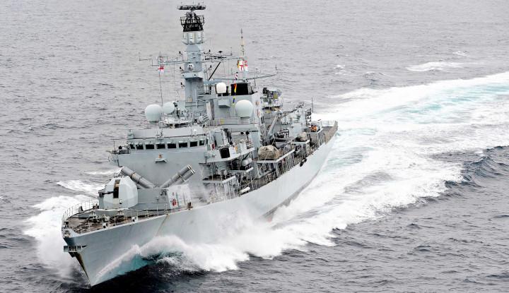 HMS Forth Inggris Intai Vasily Bykov Rusia, Apa Tujuannya? - Warta Ekonomi