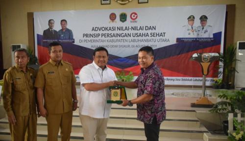 Foto Praktik Persaingan Usaha Tak Sehat, KPPU Lakukan Advokasi ke Pemkab Labuhanbatu Utara