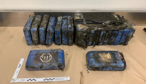 Foto Ditemukan Ngambang di Pantai Selandia Baru, Paket Kokain Ini Ditaksir Bernilai Rp28 Miliar