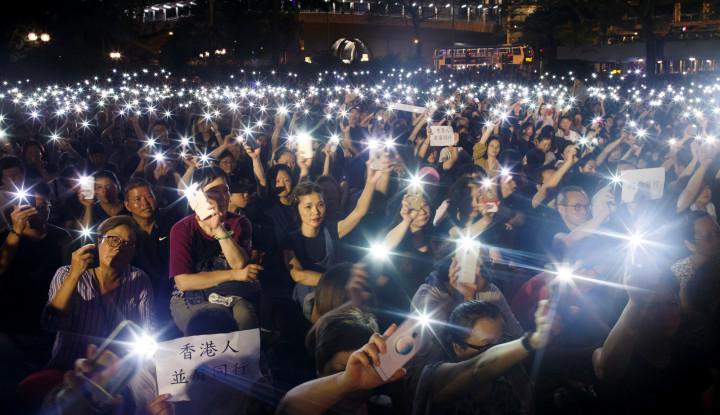 China Semakin Meyakini Adanya Asing di Aksi Hong Kong - Warta Ekonomi