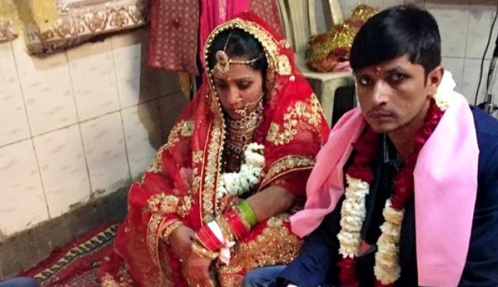 Jalin Asmara dengan Seorang Gangster, Polwan di India Akhirnya Dinikahi