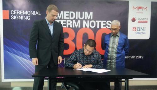 Foto Penuhi Modal Kerja, MPM Finance Terbitkan MTN Rp300 Miliar