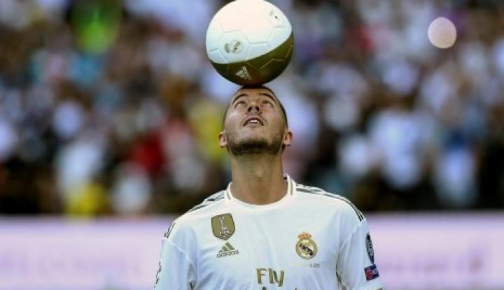 Hazard Akan Pakai Nomor Punggung 7 di Real Madrid - Warta Ekonomi