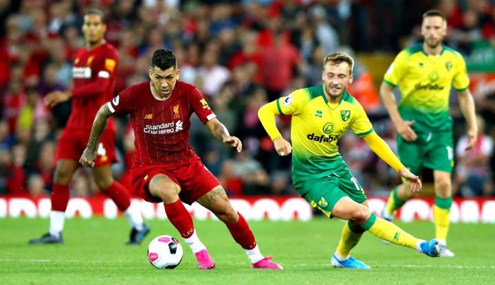 Laga Pembuka, Liverpool Bikin Norwich Babak Belur 4-1 - Warta Ekonomi