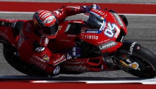 Foto Dovizioso Jadi yang Tercepat di GP Austria