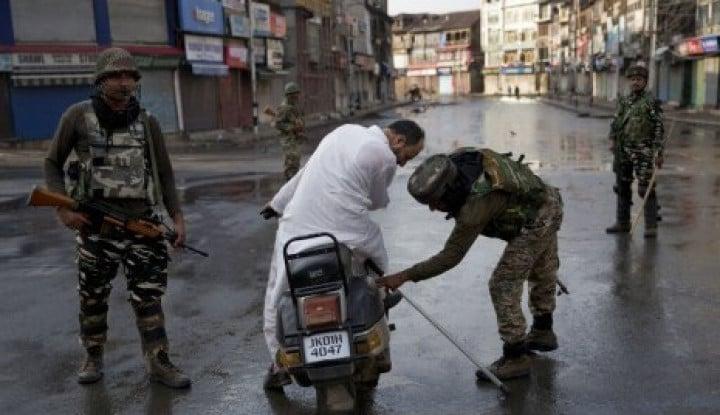 Penderitaan Warga Kashmir di Tengah Jam Malam India - Warta Ekonomi