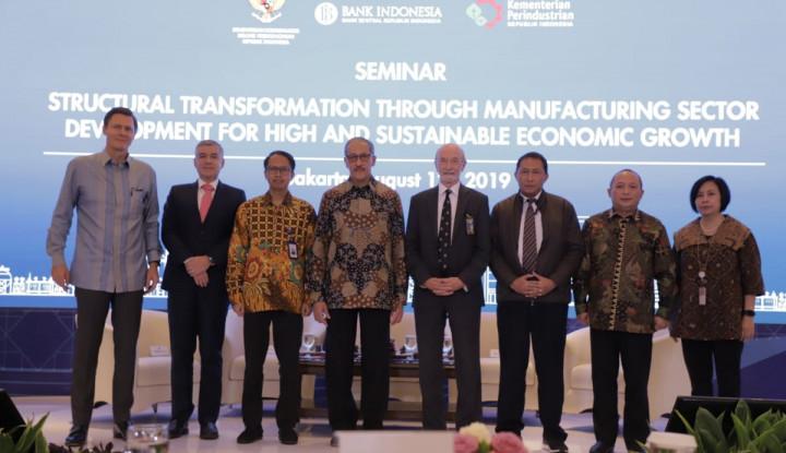 BI Dorong Sektor Manufaktur Jadikan RI Negara Maju - Warta Ekonomi