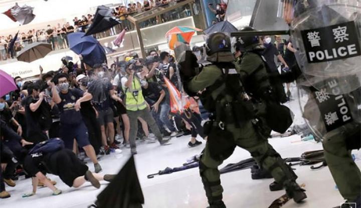 China Sebut Aksi Demonstrasi di Hong Kong Tindakan Teroris - Warta Ekonomi