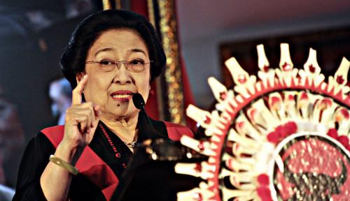 Foto Beri Imbauan, Megawati Minta Pimpinan Dewan Tak Mabuk Kekuasaan