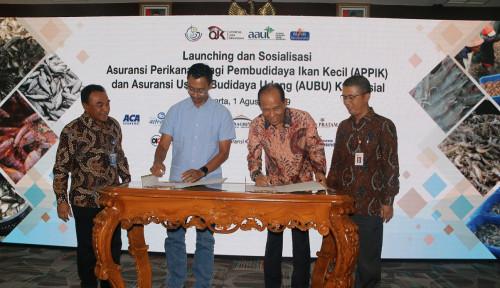 KKP Gandeng Konsorsium Asuransi dengan Jasindo sebagai Leader untuk Lindungi Peternak Lele dan Udang