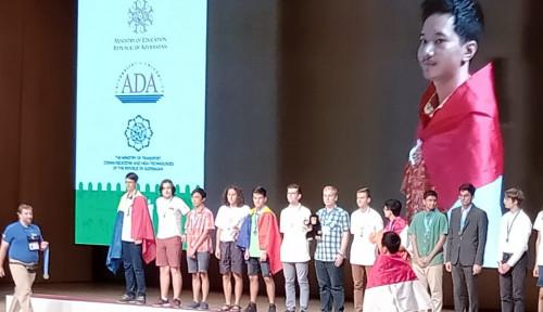 Foto Tim Olimpiade Komputer Indonesia Raih Emas di Azerbaijan
