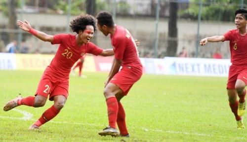 Foto Menang Telak 5 Gol atas Vietnam, Timnas Indonesia Rebut Posisi Ketiga