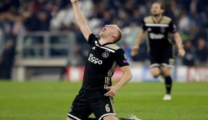 Van de Beek Jangan Mau ke Real Madrid, Tapi.... - Warta Ekonomi