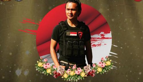 Foto Polisi Naikkan Pangkat Briptu Hedar, Korban Tewas KKB Papua