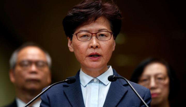 UU Darurat Diberlakukan, Pemimpin Hong Kong Sebut Pemberlakuannya untuk... - Warta Ekonomi