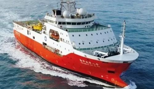 Foto Kapal China Masuk Zona Terlarang Ekonomi Eksklusif Vietnam, Ada Apa?