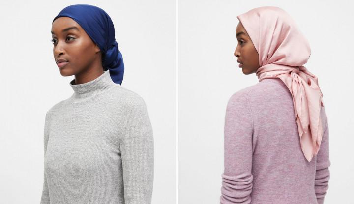 Banana Republic Rilis Produk Hijab, Tapi Kenapa Dikritik? - Warta Ekonomi