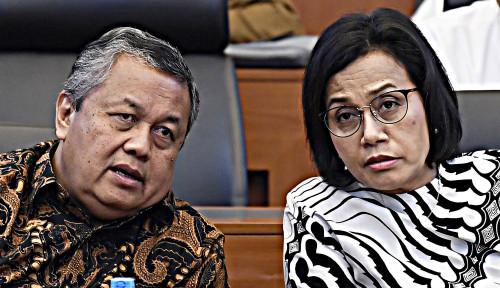 Foto Sri Mulyani Jadi Menteri Lagi, Indonesia Dibayang-bayangi Utang