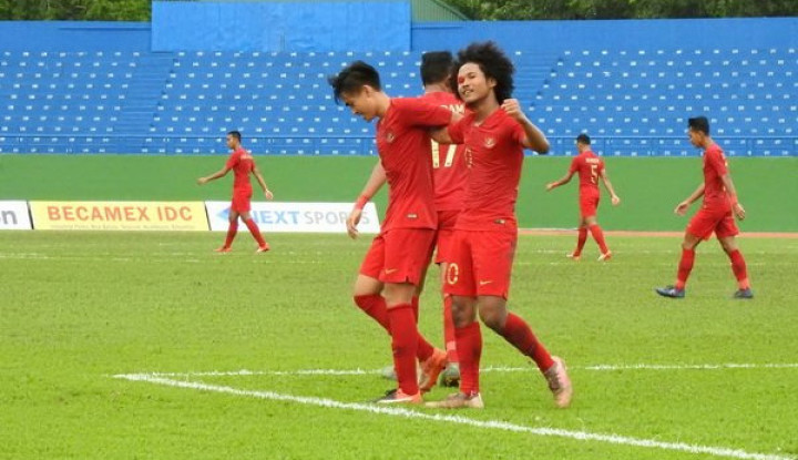 Piala AFF U-18: Kontra Myanmar, Pelatih Timnas Indonesia Lakukan Rotasi Pemain - Warta Ekonomi