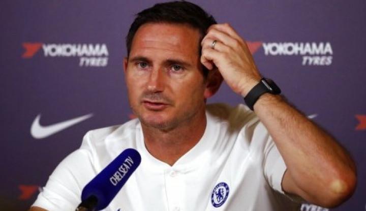 Hadapi Liverpool, Lampard Optimis Chelsea Akan... - Warta Ekonomi