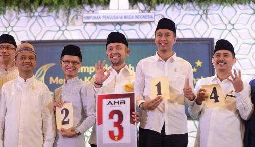 Foto Lepas Jabatan Ketua Hipmi, Bahlil Ingin Jadi Menteri Jokowi?