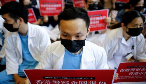Foto Situasi Hong Kong Masih Ngeri, CEO Ini Mengundurkan Diri