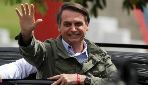 Foto Agar Selamatkan Lingkungan, Presiden Brasil Beri Usul. . .
