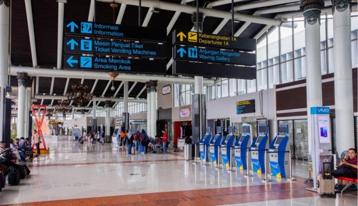 Penerbangan di Bandara Angkasa Pura II Naik 17% di Agustus 2020