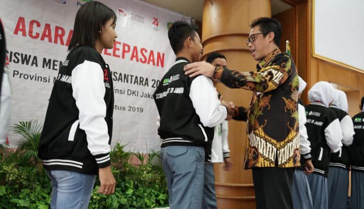 Pegadaian dan Pelni Lepas Peserta SMN 2019 Maluku Menuju Jakarta - Warta Ekonomi