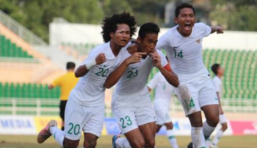 Foto Seri Lawan Myanmar, Pelatih Tim Nasional Indonesia U-18 Bilang Begini