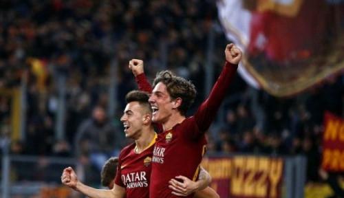 Foto AS Roma Resmi Kontrak Bintang Muda Ini Hingga 2024