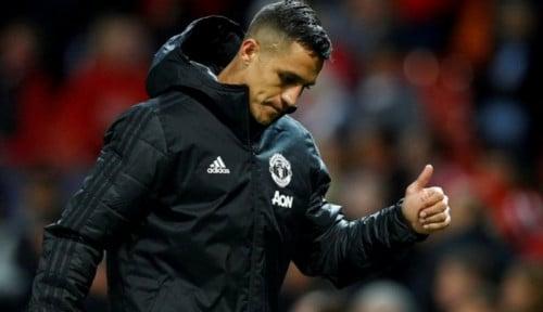 Foto Alexis Sanchez Enggan Balik Lagi ke Man United?